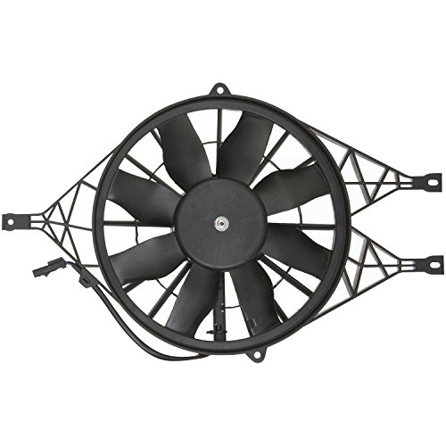 Right; 200W; 295 mm URO Parts 1KM959455E Auxiliary Cooling Fan Assembly