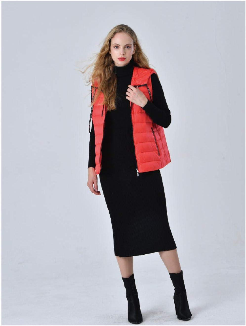 smilecstar Manteau d'hiver Chaud pour Femme rouge