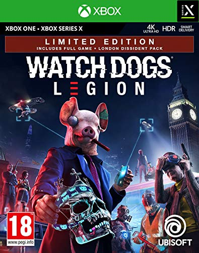Watch Dogs Legion Limited Edition (Exclusive to Amazon.co.uk) (Xbox One/Series X)