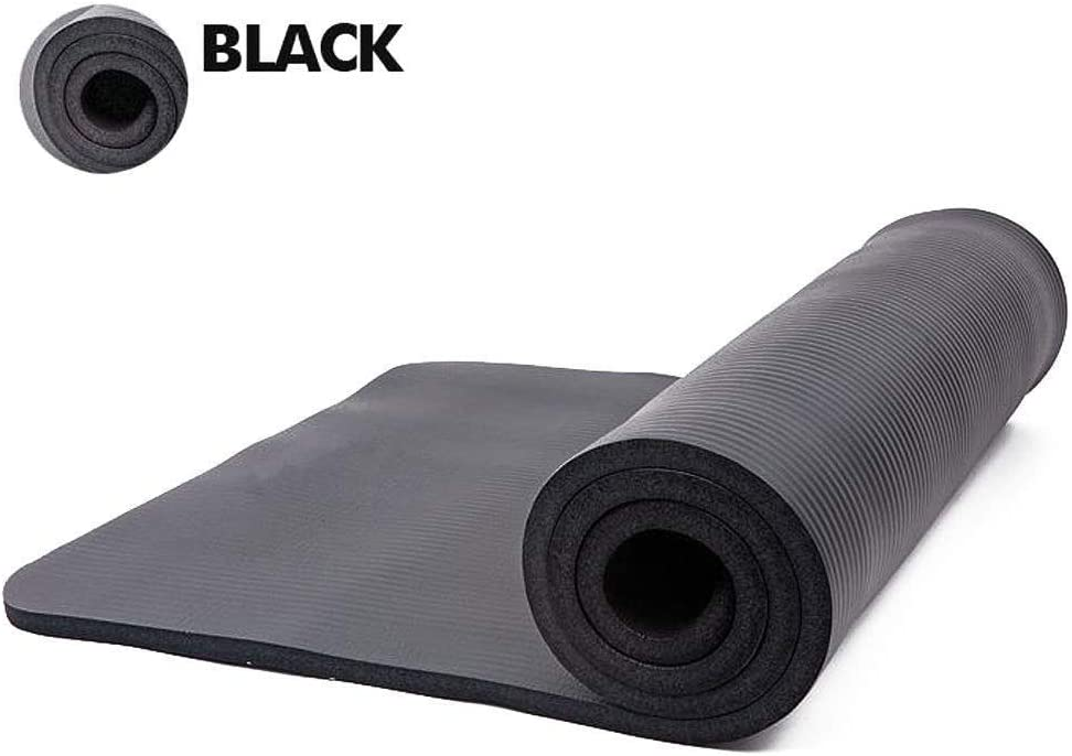 Cushioned Non-Slip Physio Yoga Mat for Gym Pilates Workout Core Exercise