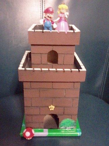 Amazon.com: Nintendo Super MARIO Princess Peach WEDDING CAKE TOPPER ...