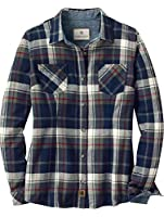 Legendary Whitetails Women's Cottage Escape Long Sleeve Button Up Flannel Shirt