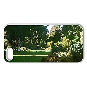 Chatto's Garden - Case Cover for iPhone 5 and 5S (Beaches Series, Watercolor style, White)