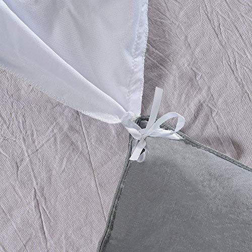 Vailge Pinch Pleated Duvet Cover