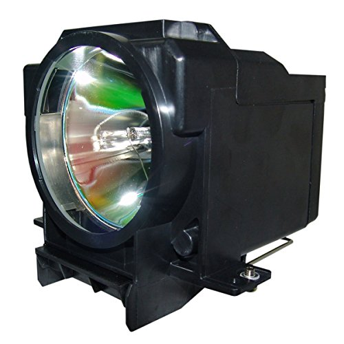 QueenYii Compatible for EPSON EMP-9300 PowerLite 9300NL Replacement Projector Lamp