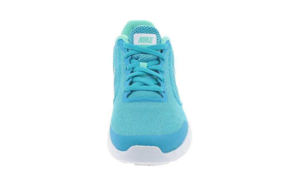 NIKE ' Revolution 3 (GS) Running Shoes B01M6Y2APB 3.5 M US Big Kid|Chlorine Blue/White/Hyper Turquoise