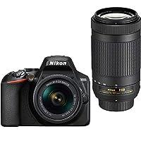 Nikon D3500 DSLR Camera + Nikon AF-P DX 18-55mm f/3.5-5.6G VR + Nikon AF-P DX 70-300mm f/4.5-6.3G ED VR