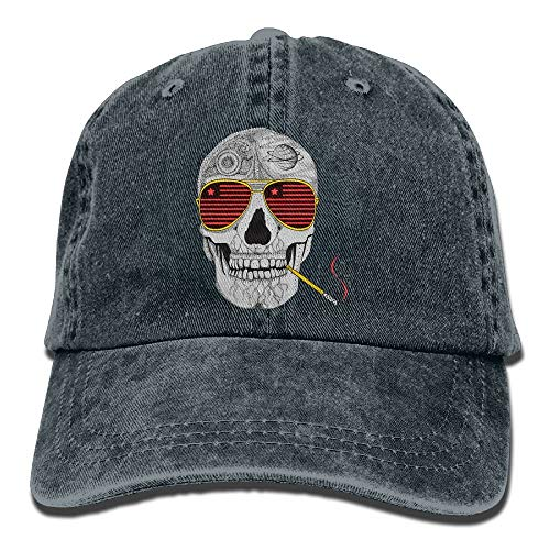 Gonzo Skull Adult Cowboy Hat Baseball Cap Adjustable Athletic Make Custom Trendy Hat for Men and Women Design21 -