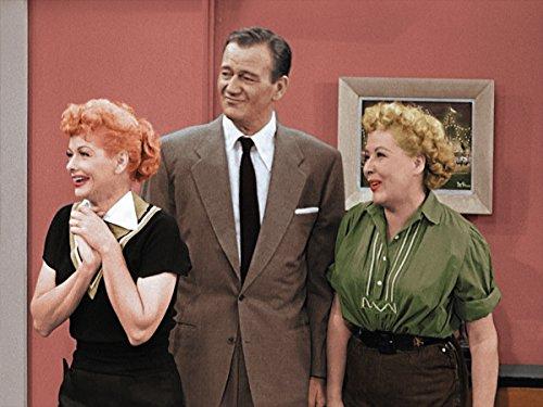 Gatsbe Exchange 8 x 10 Tin Sign I Love Lucy and John Wayne
