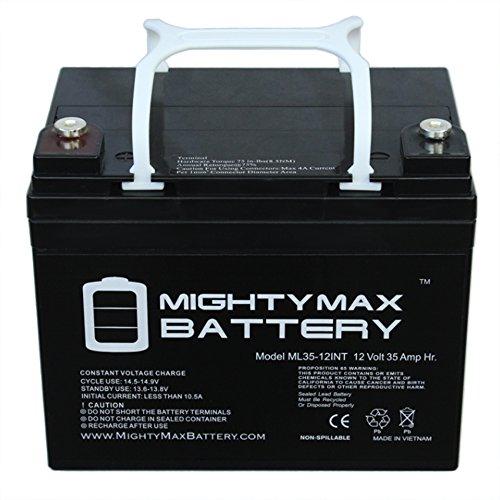 12V 35AH SLA Internal Thread Battery for Apex APX12-35 - Mighty Max Battery brand - Apex Brands