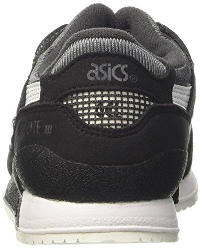 Asics Unisex-Kinder Gel-Lyte III PS Turnschuhe Grau (Dark Grey/white)