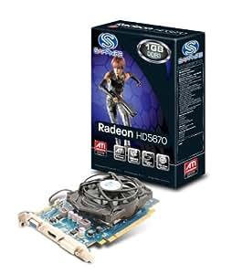 Sapphire Radeon HD 5670 1GB DDR3 VGA/DVI/HDMI PCI-Express Video Card 100289DDR3L