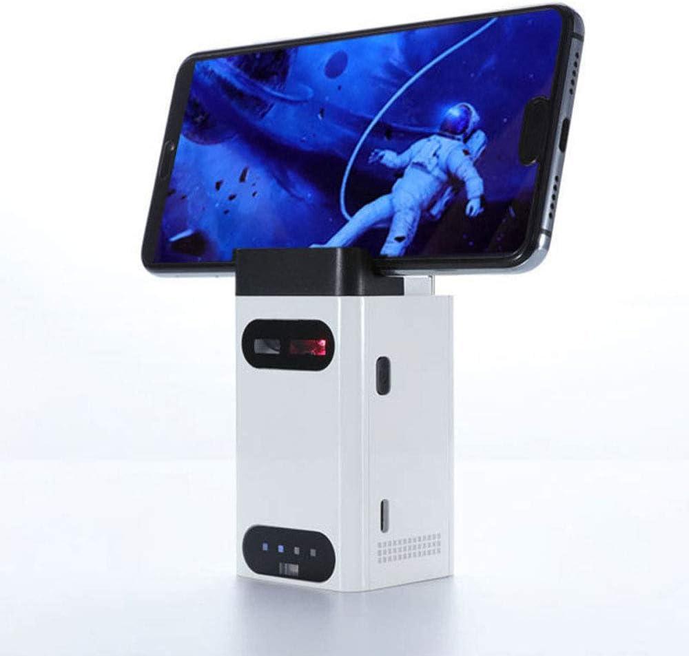 hyy Bluetooth Laser Laser Projection Keyboard Soporte para Teléfono Móvil Mouse Set Mobile Power Regalo Creativo