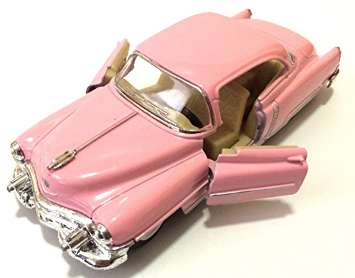 1:43 SCALE PINK 1953 CADILLAC SERIES 62 COUPE KINSMART DIECAST CAR MODEL 5