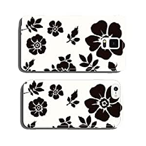 Flower decorative cell phone cover case Samsung S5