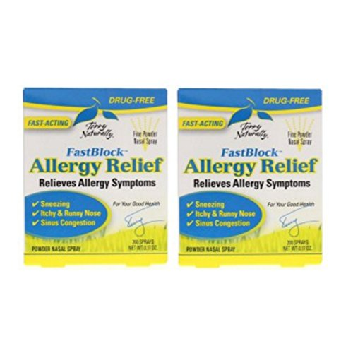 Terry Naturally/Europharma Fast Block Allergy Relief -0.17 oz -2 Pack -  2077832