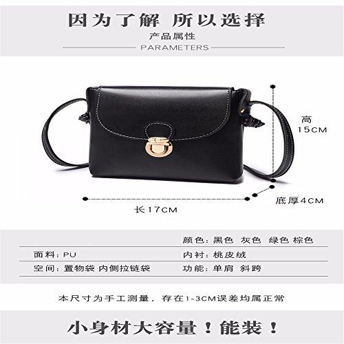 Black Ragazza gray Il mini Vento Gaoqiangfeng Borsa x6qvgAYw