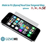 Lifeproof Nuud Tempered Glass Screen Protector For iPhone 5 5c 5s SE Case nüüd - Gizmomix Inc