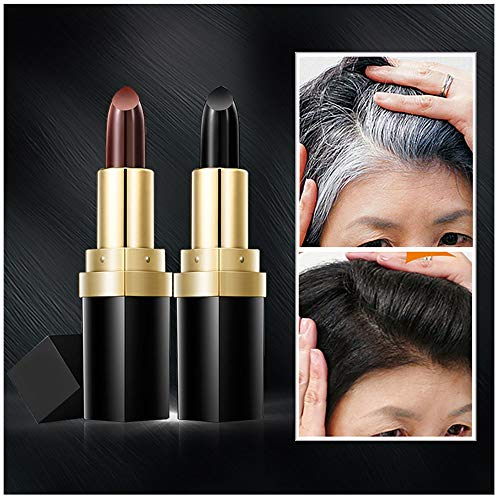 � Clearance Sale Hair Cream Hair Color Pen New Fast Temporary Hair Dye To Cover White (Brown) ()