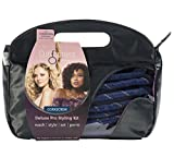 Curlformers Deluxe Range Styling Kit Corkscrew Curls for Extra Long Hair
