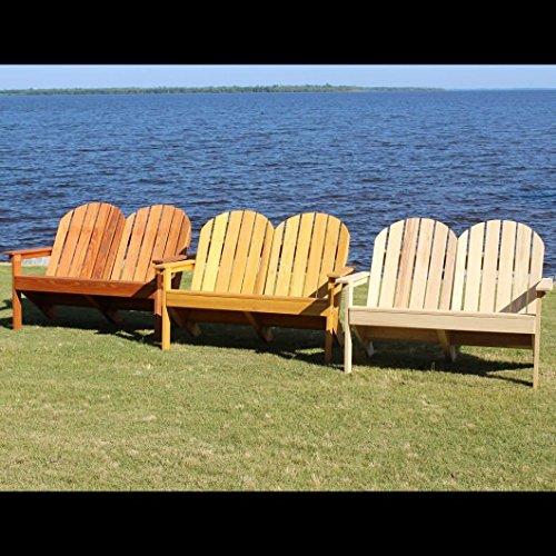 (Designed For Outdoors Adirondack Loveseat)