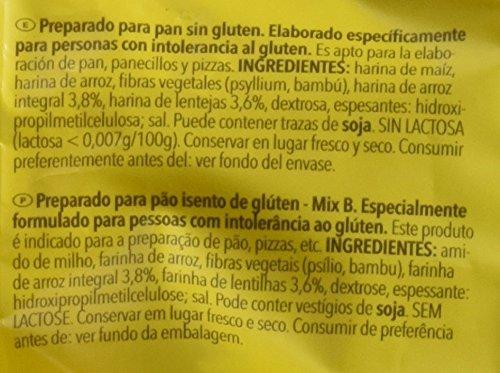 Dr. Schar Mix B Harina sin Gluten - 1000 gr - [Pack de 5]: Amazon ...