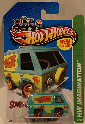 - Hot Wheels, 2012 HW Imagination, Scooby Doo! The Mystery Machine Green 38/247