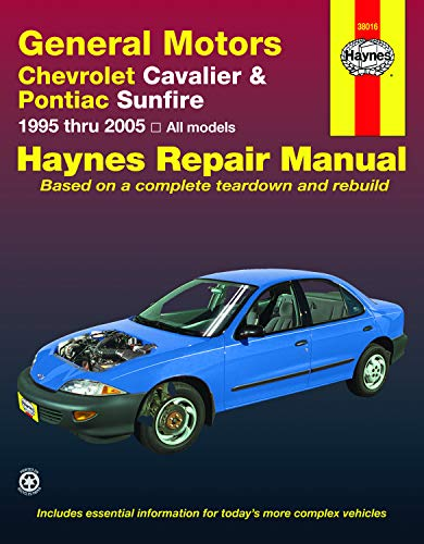 Chevrolet Cavalier and Pontiac Sunfire (95-05) Haynes Repair Manual