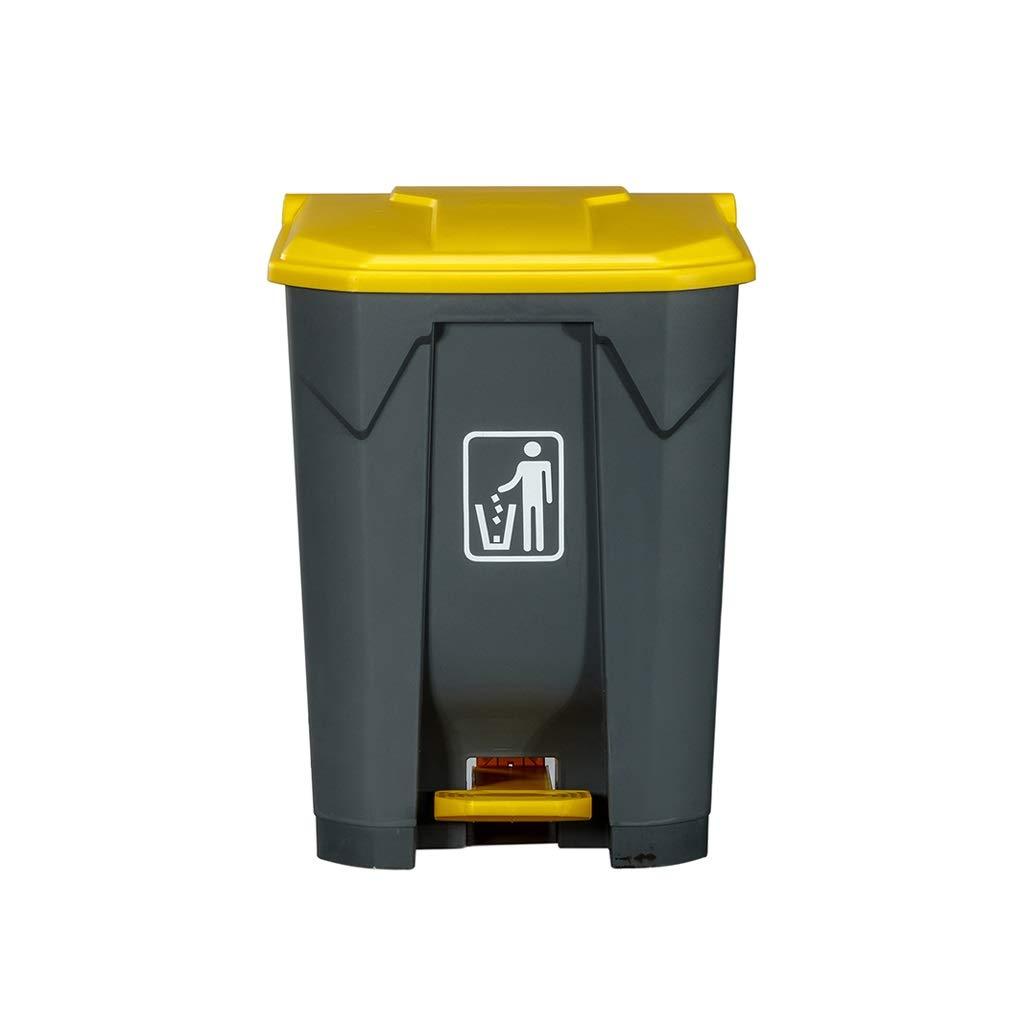 ごみ箱 ふたのペダルが付いているゴミ箱のホテルの家の台所大きい商業屋外のフィート (サイズ さいず : 80L) 80L  B07QTH7H3R