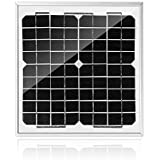 ACOPOWER HY010-12M Mono Solar Panel for 12V Battery Charging RV Boat, Off Grid, 10W