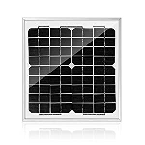 ACOPOWER Mono Solar Panel For 12V Battery Charging RV Boat Off Grid 10W