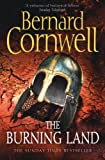 Front cover for the book The Burning Land by Bernard Cornwell