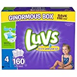 Health & Personal Care : luvs diapers, size 4, 160 count