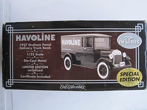 Havoline 1927 Graham Panel Delivery Truck - Panel Bank Truck