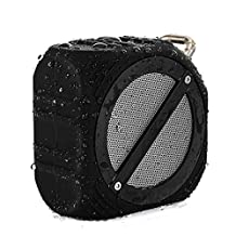 SKYSON OTD-02 Waterproof and Drop Resistant Wireless Bluetooth Speaker, Bluetooth 4.0, IPX6 Waterproof Level, Super Bass, 2000mAh Battery, 8H Music Play Time