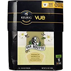 Van Houtte French Vanilla Coffee Keurig Vue Portion Pack, 16 Count