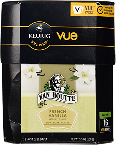 (Van Houtte French Vanilla Coffee Keurig Vue Portion Pack, 16 Count)