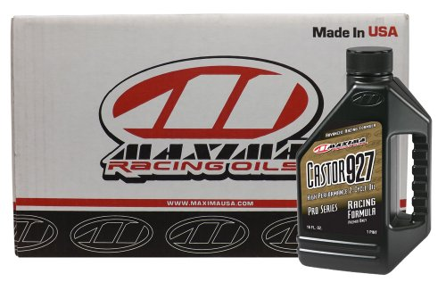 Maxima CS23916-12PK Castor 927 2-Stroke Racing Premix Engine Oil - 16 oz., (Case of - Engine Racing