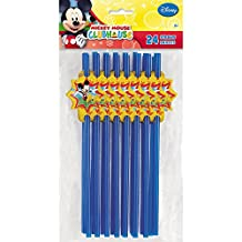 Mickey Mouse Party Straws, 24ct