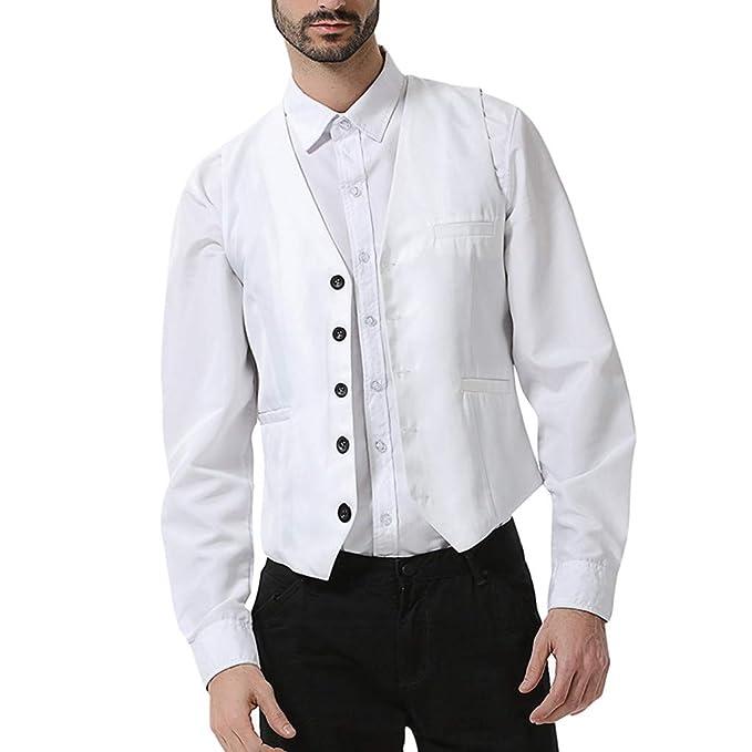 Sylar Elegante Chalecos Hombre Vestir Chaleco Hombre Boda V ...