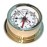Euro Brass Time & Tide Clock