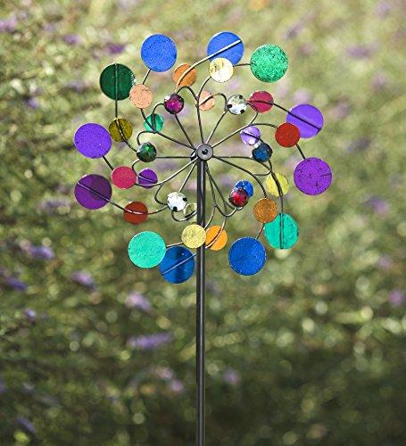 Midi Metal Wind Spinner Multi Colored product image