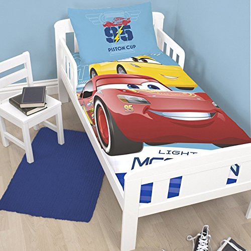 Disney/Pixar CARS 3 - Details & Downloadable Activity Sheets #Cars3 - Disney Cars 3 Lightning Junior Duvet Cover and Pillowcase Set