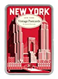 Cavallini New York Carte Postale, 18 Postcards per Tin