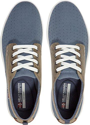 Helly Hansen bergshaven Schuhe Schnürschuh OXFORD, Herren Blau (Blau/Grau 701)