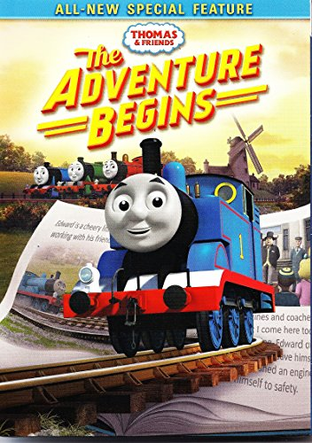 Thomas & Friends: The Adventure Begins (DVD + SLIPCOVER)