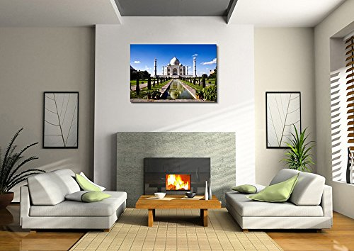 White Marble Taj Mahal in India Home Deoration Wall Decor