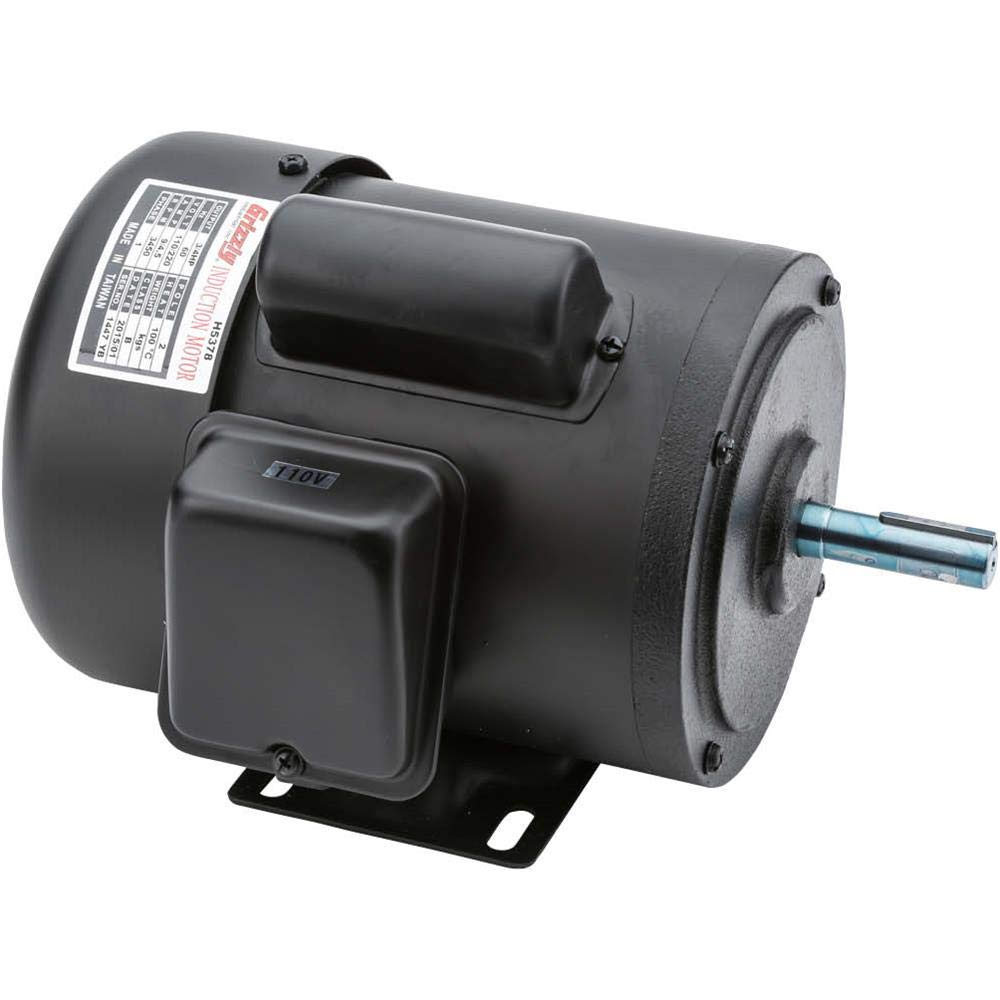 Grizzly H5378 Motor 3/4 HP Single-Phase 3450 RPM TEFC 110V/220V