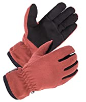 SKYDEER Women Winter Glove with Warm Deerskin Suede Leather and Polar Fleece (SD8663T)