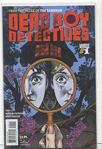Dead Boy Detectives #1-5 Full Set Complete Run Near Mint Vertigo LG1